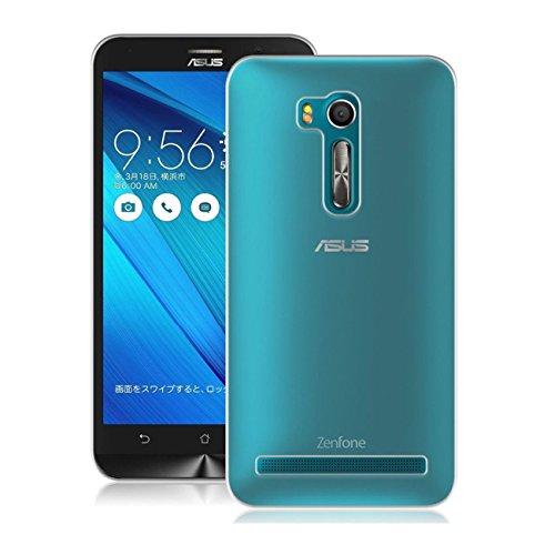 【GTO】ASUS ZenFone Go (ZB551KL) ASUSTek ZenFone Go ケース カバー TPUアンチグレア クリアケース 高品質アンチグレアTPU素材を使用した耐水、防指紋、散熱加工の超薄型、最軽量TPUケース クリア(純透明)