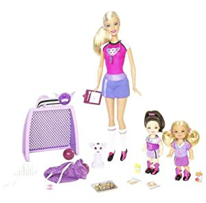 Barbie: I can be ... Soccer Coach Playset