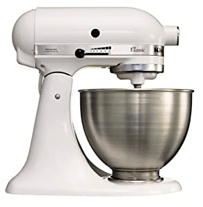 KitchenAid K45SS Classic Stand Mixer, White: Amazon.co.uk
