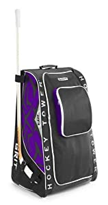 Grit Inc. Foldable HTSE Hockey Tower 33-Inch Purple Hockey Equipment Bag. NEW Color!... by Grit Inc.