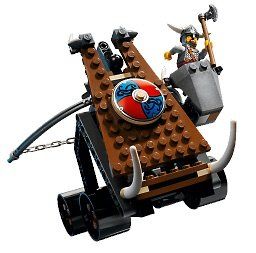 LEGO Vikings 7017: Viking Catapault vs. Nidhogg Dragon