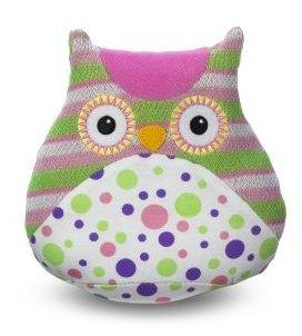 Ganz Li'l Hoot Owls Pink