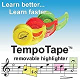 TempoTape - Removeable Highlighter Tape - 3 Dispenser Pack