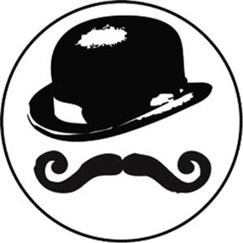Licenses Products Mustache Snob Magnet - 1