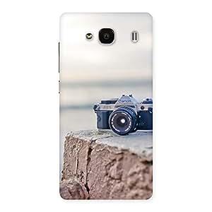 Ajay Enterprises Wo Camera On RockStone Back Case Cover for Redmi 2 Prime