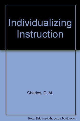 Individualizing Instruction