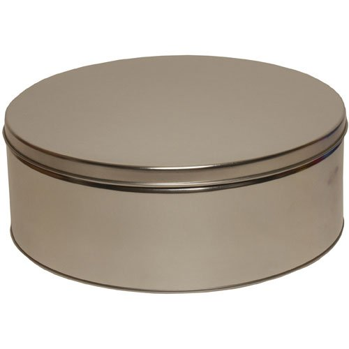 Silver 9 1/2 x 3 3/4 Metallic Tin - sold individually