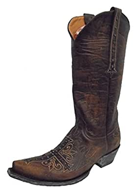 "Old Gringo Womens Milagros 13"" Boot Brass Size 7"