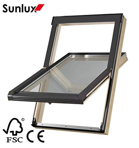 wooden-roof-window-centre-pivot-skylight-55cm-x-78cm-with-flashing-kit-inc-10-yrs-guarantee