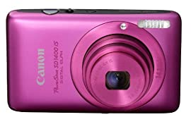 Canon PowerShot SD1400IS Digital Camera (Pink)