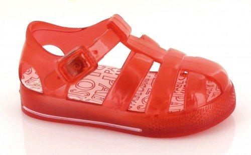 Pablosky, Ciabatte da spiaggia bambine Rosso rosso 24