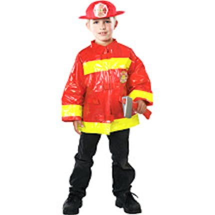 Firefighter Halloween Costume for Boys Size Medium 7/8