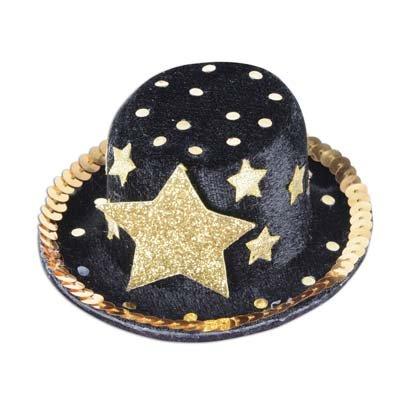Top Hat Hair Clip - 1