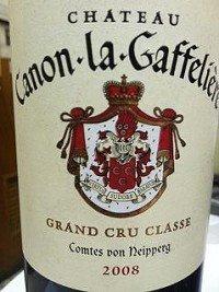 Chateau Canon-La-Gaffeliere St. Emilion Grand Cru 2008 750Ml