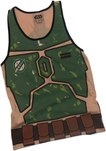 Boba Fett Costume -- Star Wars Adult Tank-Top Shirt