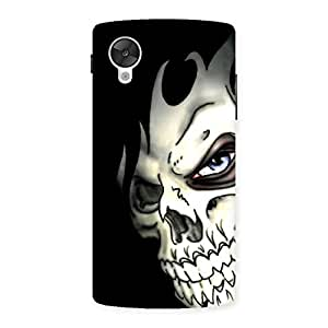 Enticing Nasty Face Art Multicolor Back Case Cover for Google Nexsus 5