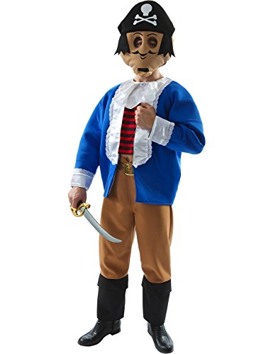 Adult Captain Pugwash Fancy Dress Costume