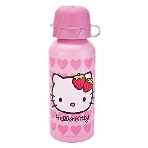 Zak Designs Hello Kitty 13-Ounce Aluminum Sports Bottle