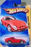 Hot Wheels (ホットウィール) 2009 New Models Ferrari (フェラーリ) 250 GTO w/ WSPs (LWs)#005 (05 of 42) 1:64 スケール ミニカー ダイキャスト 車 自動車 ミニチュア 模型 (並行輸入)