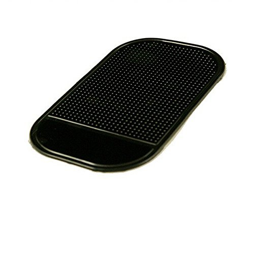 RADAR DETECTOR - DASHBOARD MAGIC MOUNTING PAD For Passport 9500ix, Escort, Valentine, Cobra, Beltronics, Whistler, No mounting bracket, No windshield mount (Black)