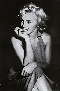 Marilyn Monroe Poster ~ Nervous Nail Biting ~ 24x36""