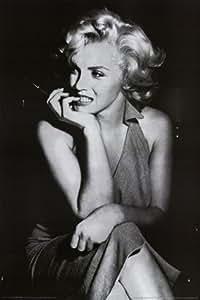 "Marilyn Monroe Poster ~ Nervous Nail Biting ~ 24x36"""