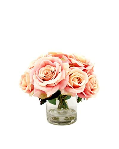 Creative Displays Faux Rose Bouquet, Pink