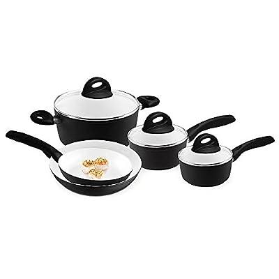 Bialetti 07091 Perfezione Cookware Set, 8 Piece