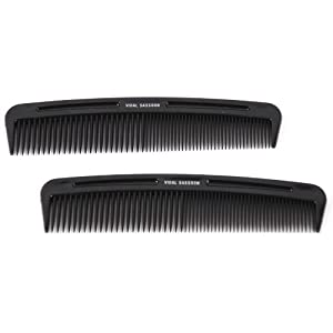 Vidal Sassoon 5-inch Pocket Combs, 2 Count