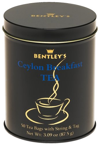 Buy Bentley's Royal Premium Black Flavored Ceylon Breakfast Tea, 50-Count 3.09 Ounce Tin (Pack of 6) (Bentley's, Health & Personal Care, Products, Food & Snacks, Beverages, Tea, Black Teas)