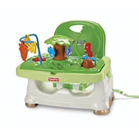 Fisher-Price Healthy Care Booster Seat - Rainforest