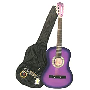 Click to buy Mardi Gras Acoustic Purple Guitarfrom Amazon!