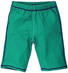 Oye Boys Swim Shorts - Sea Green (4-6 Y)