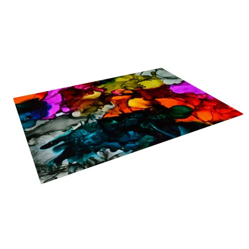 Funky Rainbow Colored Area Rugs: Funky Hippie Area Rugs : Funk This House