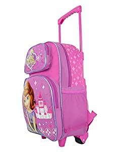 "Disney Sofia the First Princess 16"" Large Rolling Backpack"