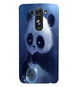 ColourCraft Cute panda Design Back Case Cover for LG G3 S