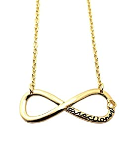 "Directioner Fans Plain Infinity with 18"" Link Chain Necklace from NYFASHION101"