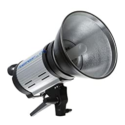 Flashpoint 320M 150 Watt AC/DC Monolight Strobe with Portable Battery Power Pack