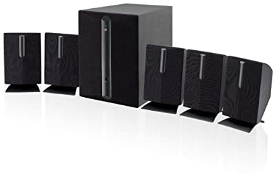Click for iLive HT050B 5.1 Channel Home Theater Speaker System (Black,6)