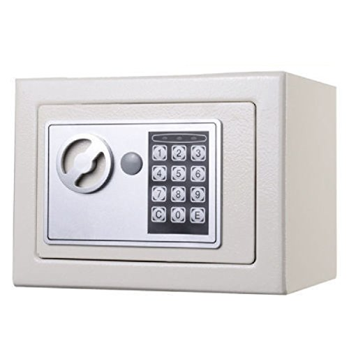 Durable Keypad Lock Home Hotel : NEW Small White Digital Electronic Safe Box Keypad Lock Home Office Hotel Gun : Safe Box Small White Electronic (Mini Fridge With Code compare prices)