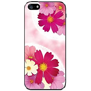 iPhone 5 ケースコスモスブーケ