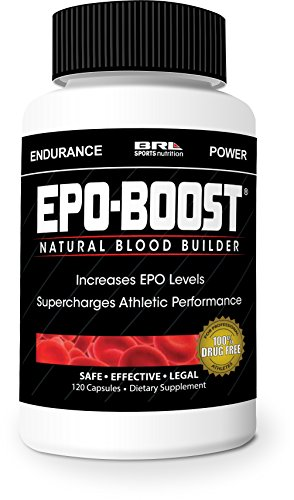 EPO-BOOST Powerful Endurance Enhancer, 120 capsules (Cycling Endurance compare prices)