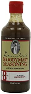Demitri's Bloody Mary Seasoning Classic Recipe, 16-Ounce Bottles (Pack of 3)