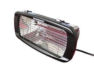 Garden Comfort Garden Comfort HL-E54-1 Electric Wall-Mount Infrared Quartz Heater