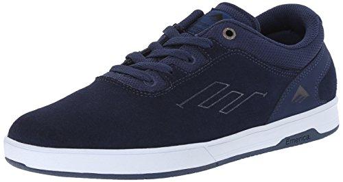 Emerica Men's Westgate Cc Athletic Shoe, Dark Blue/White, 8 M US