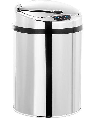milkee 3l mini poubelle acier inoxydable 0614591060857 cuisine maison poubelles de. Black Bedroom Furniture Sets. Home Design Ideas