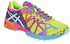 ASICS Women's Gel-Noosa Tri 9 Running Shoe,Flash Yellow/Turquoise/Berry,10 M US