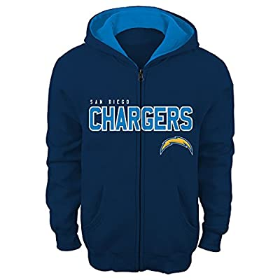 "NFL San Diego Chargers 8-20 ""Stated"" Full Zip Hoodie"