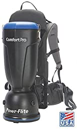 Powr-flite 10quart Premium Style Comfort Pro Backpack Vacuum (10quart)