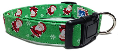 Green Santa Design Collar